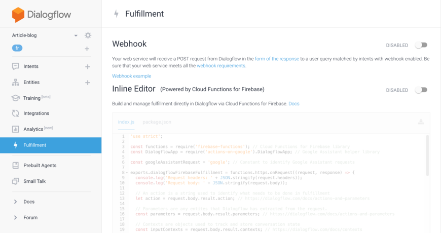 dialogflow-webhook