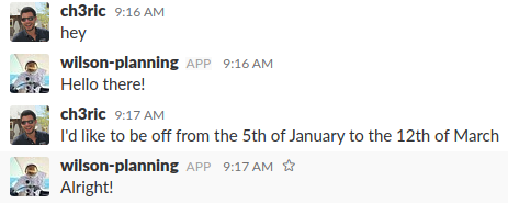 2018 new year resolution: Replace my ERP by a Slack bot